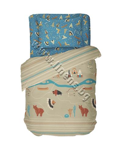 4000017370 Детски спален комплект Dilios Индианско Село