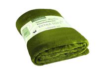 Одеяла от полиестер » Одеяло Dilios Екстра Софт - Тъмно Зелено