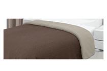 Покривки за легло (кувертюри/шалтета) » Покривка за легло Dilios Шарлот Двулицева Кафяво