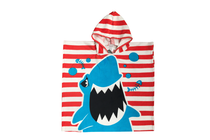 Детски хавлиени изделия » Детско плажно пончо Dilios Акула