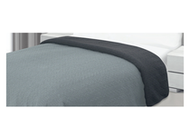 Покривки за легло (кувертюри/шалтета) » Покривка за легло Dilios Шарлот Двулицева Сиво
