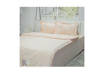 Спално бельо комплекти » Спален комплект Roxyma Едноцветен Праскова