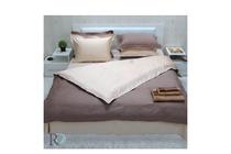 Спално бельо комплекти » Спален комплект Roxyma Двуцветен Капучино - Светла Праскова