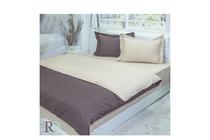 Спално бельо комплекти » Спален комплект Roxyma Двуцветен Кафяво - Бежово