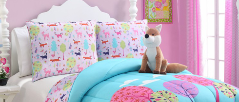Спални комплекти<br>за бебета и<br>за деца