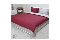 Спално бельо комплекти » Спален комплект Roxyma Двуцветен Бордо - Сиво