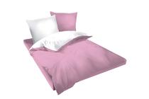 Спално бельо комплекти » Спален комплект Dilios Двулицев Розово - Бяло