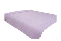 Покривки за легло (кувертюри/шалтета) » Покривка за легло Dilios Шалте Розово - Бели Точки