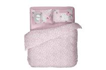 Спално бельо комплекти » Спален комплект Dilios Ретро Розово 2