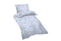 Спални комплекти за бебета и за деца » Бебешки спален комплект Dilios Овце Сини