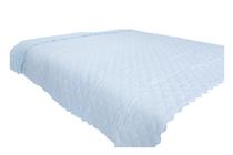 Покривки за легло (кувертюри/шалтета) » Покривка за легло Dilios Шалте Синьо - Бели Точки