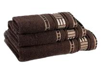 Хавлиени кърпи » Хавлиена кърпа Dilios Атина Кафяво