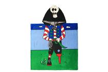 Детски хавлиени изделия » Детско плажно пончо Dilios Пират