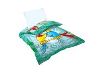Спални комплекти за бебета и за деца » Бебешки спален комплект Dilios Папагали
