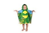 Детски хавлиени изделия » Детско плажно пончо Dilios Дино