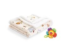 Одеяла от полиестер » Бебешко одеяло Dilios Зоо