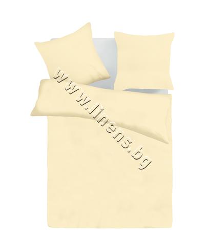 157451467621 Спален комплект Dilios Едноцветен Св. Екрю
