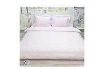 Спално бельо комплекти » Спален комплект Roxyma Едноцветен Светло Розово