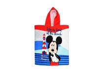 Детски хавлиени изделия » Детско плажно пончо Dilios Мики на плаж