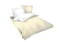 Спално бельо комплекти » Спален комплект Dilios Двулицев Екрю - Бяло