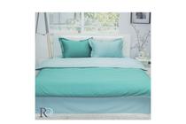 Спално бельо комплекти » Спален комплект Roxyma Двуцветен Тъмно Зелено - Светло Зелено
