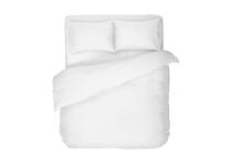 Спално бельо комплекти » Спален комплект Dilios Едноцветен Бяло