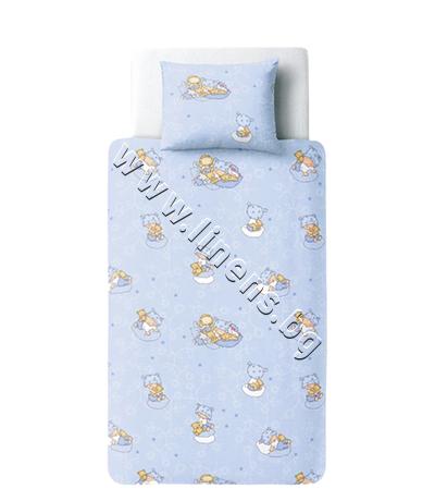 15704443000 Бебешки и детски спален комплект Dilios Бейби Блу