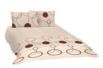 Покривки за легло (кувертюри/шалтета) » Покривка за легло Dilios Тристан Екрю